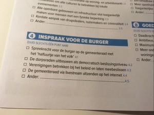 PVDA Geraardsbergen hield enquete Persregio Dender