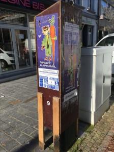 Parkeermeters afgesloten voor Carnaval Persregio Dender