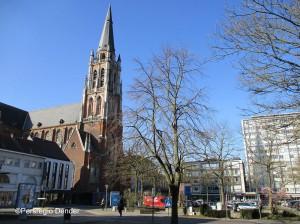 Esplanadeplein Sint Jozefkerk Persregio Dender