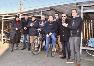 Sp.a Geraardsbergen tijdens applausdag Persregio Dender