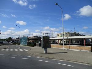 Erembodegem aan vernieuwd station Persregio Dender