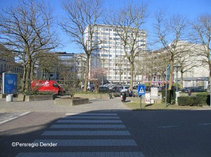 Esplanadeplein bovengrondse parking Aalst Persregio Dender