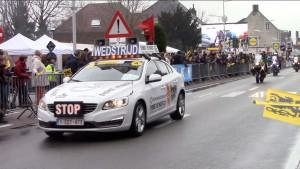 Ronde van Vlaanderen passage in Herzele Persregio Dender