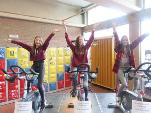 GO! Atheneum Geraardsbergen fietst Persregio Dender