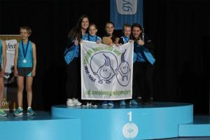 Jumping Onions provinciaal kampioen rope skipping in Aalst Persregio Dender