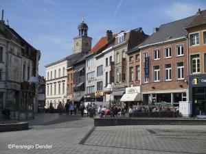 Graanmarkt Ninove en zijn terrasjes Persregio Dender