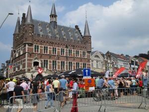 SKODA Challenge-Geraardsbergen op de Markt Persregio Dender
