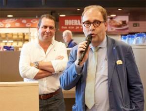 Spar Erembodegem feestelijk geopent door burgemeester Christophe D Haese Persregio Dender