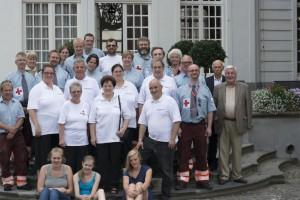 Rode Kruis-Aalst en delegatie uit Cochem Persregio Dender