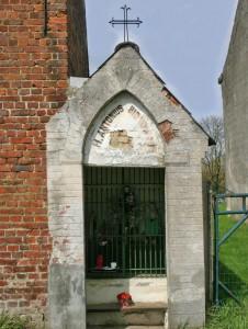 Sint-Antoniuskapel in Aaigem vroeger Persregio Dender