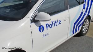 Politie combi voertuig Aalst Persregio Dender