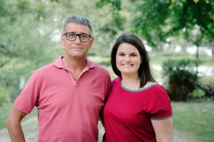 Lisa Houtman en vader Erik sp.a Haaltert Persregio Dender