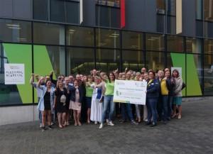 Neutraal Ziekenfonds Vlaanderen groepsfoto Levensloop Persregio Dender