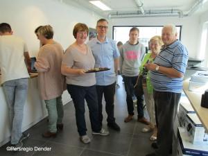 Opening Computers Maes nieuw in Bambrugge Persregio Dender